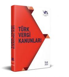Türk vergi kanunları kitabı kapağı
