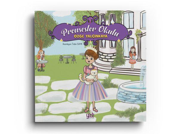 Prensesler Okulu Kitabı kapağı